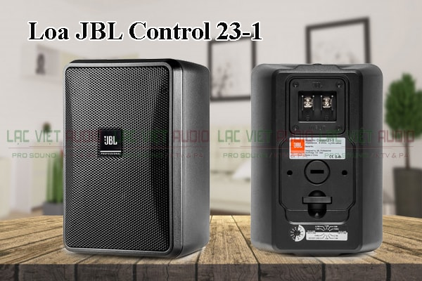 Thiết kế của sản phẩm Loa JBL Control 23 1
