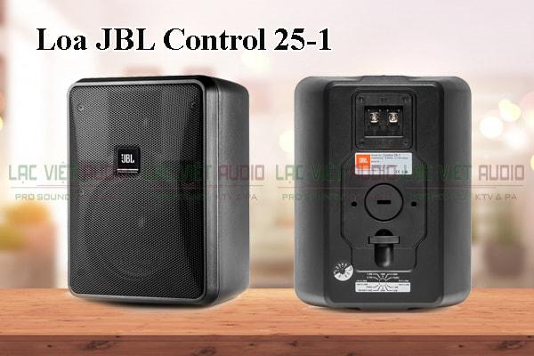 Tính năng nổi bật của sản phẩm Loa JBL Control 25 -1
