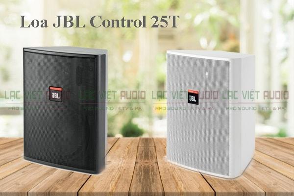 Thiết kế của sản phẩm Loa JBL Control 25T