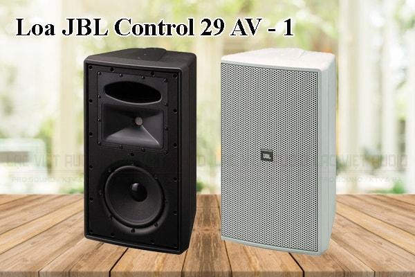 Thiết kế bên ngoài của sản phẩm Loa JBL Control 29AV1