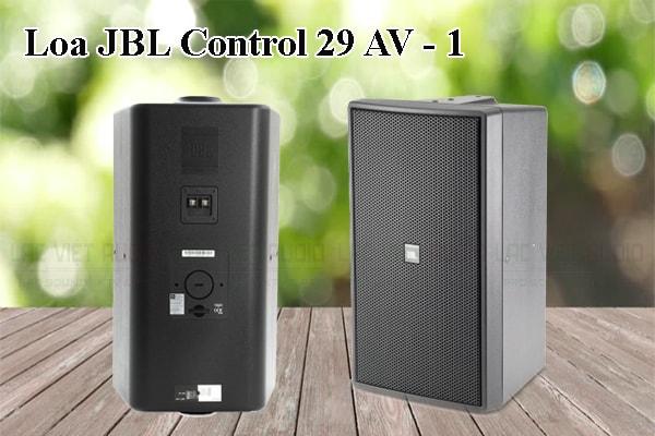 Tính năng nổi bật của thiết bị Loa JBL Control 29AV1