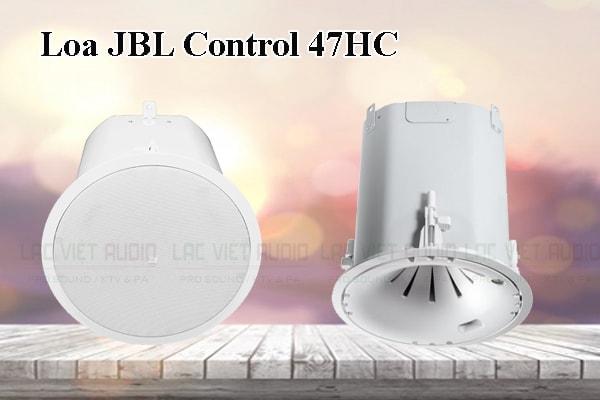 Thiết kế bên ngoài của sản phẩm Loa JBL Control 47HC
