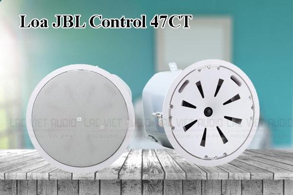 Thiết kế bên ngoài của sản phẩm Loa JBL Control 47C/T