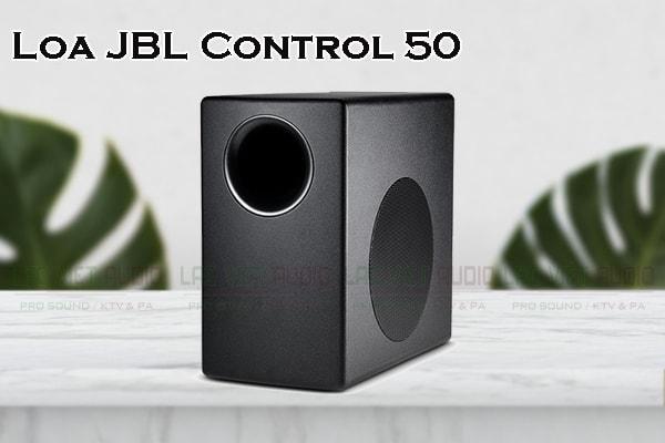 Giới thiệu về sản phẩm Loa JBL Control 50ST