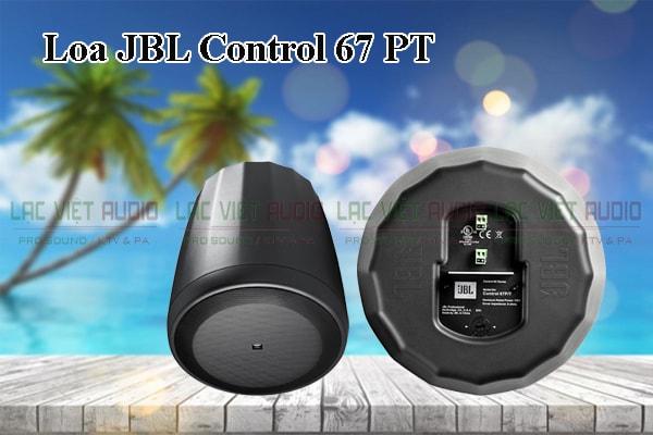 Thiết kế bên ngoài của sản phẩm Loa JBL Control 67P/T