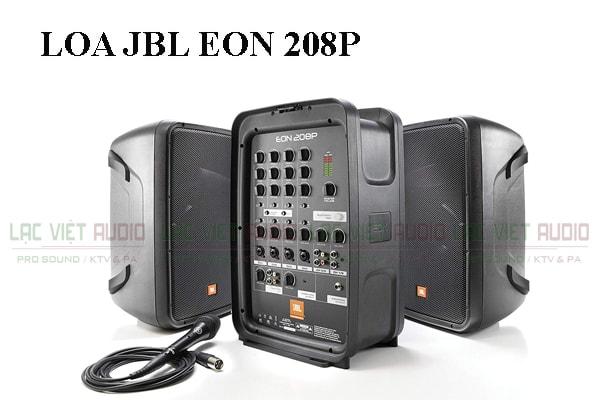 Thiết kế bên ngoài của sản phẩm Loa JBL EON 208P