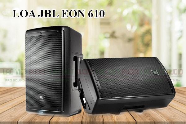 Thiết kế bên ngoài của sản phẩm Loa JBL EON 610