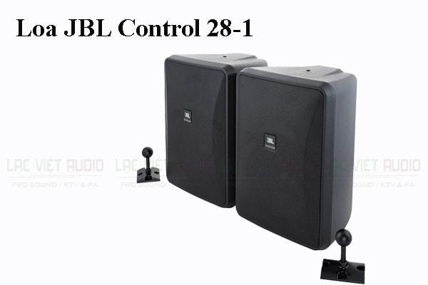 Thiết kế bên ngoài của sản phẩm Loa JBL Control 28-1