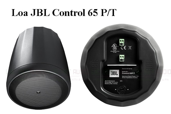 Các tính năng nổi bật của sản phẩm Loa JBL Control 65P/T