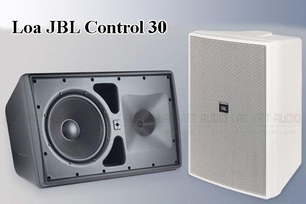 Thiết kế bên ngoài của sản phẩm Loa JBL Control 30