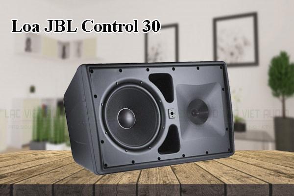 Tính năng nổi bật của thiết bị Loa JBL Control 30