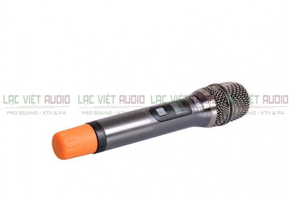 Cấu tạo tay mic của Micro BBS S350 - Lạc Việt Audio
