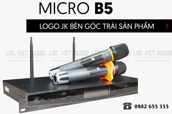 Thiết kế Micro JKAudio B5 - Lạc Việt Audio