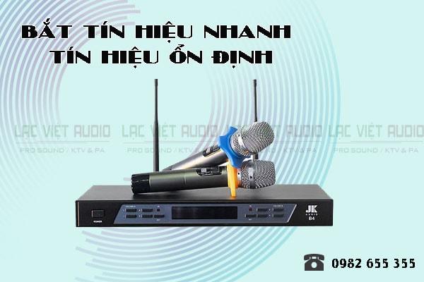 Thiết kế của sản phẩm Micro JKaudio B4 - Lạc Việt Audio