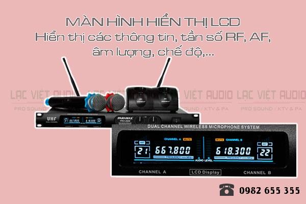 Thiết kế của sản phẩm Micro karaoke paramax PRO 8000