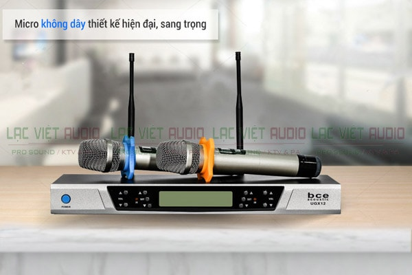 Micro không dây BCE UGX12 ( 2018) - Lạc Việt Audio