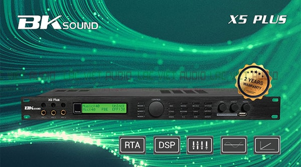Thiết kế Vang số Bksound X5 plus- Lạc Việt Audio