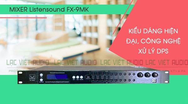 Tính năng của Vang số chỉnh cơ Listensound FX-9MK - Lạc Việt Audio
