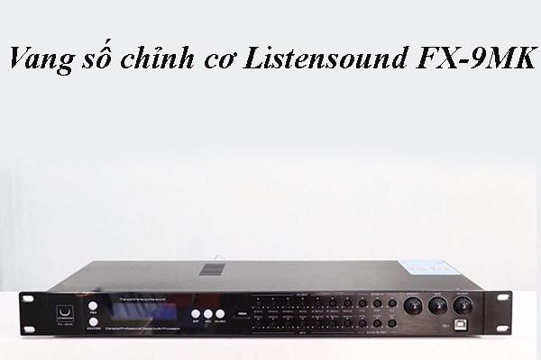 Thiết kế của Vang số chỉnh cơ Listensound FX-9MK - Lạc Việt Audio