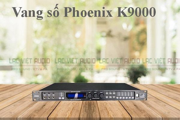 Thiết kế của sản phẩm vang số Phoenix K9000 - Lạc Việt Audio