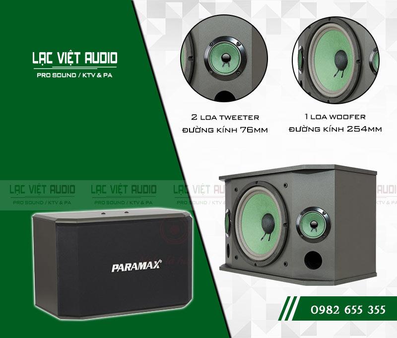 Các tính năng nổi bật của sản phẩm Loa Paramax K850 NEW