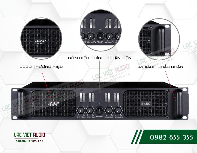 Các đặc điểm nổi bật của sản phẩmCục đẩy công suất AAP S4300