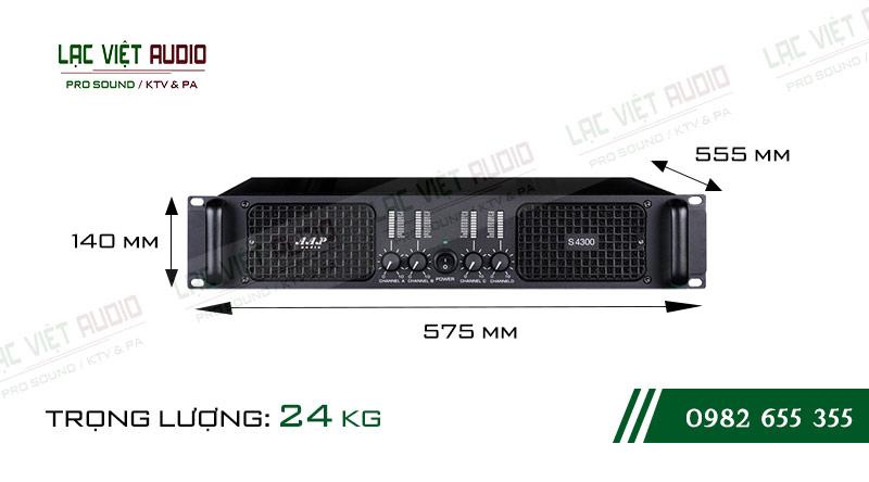Các thiết kế bên ngoài của thiết bịCục đẩy công suất AAP S4300