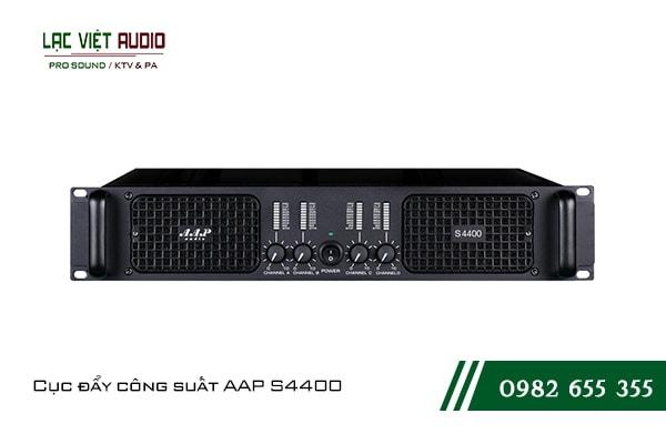 Giới thiệu về sản phẩm Cục đẩy công suất AAP S4400