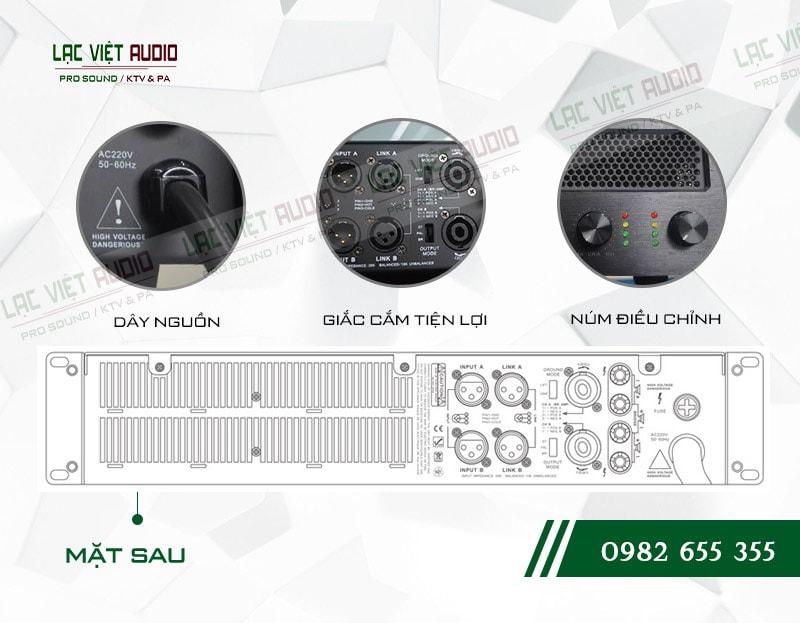 Các tính năng nổi bật và tối ưu nhất của sản phẩm Cục đẩy công suất Agasound HD 1000