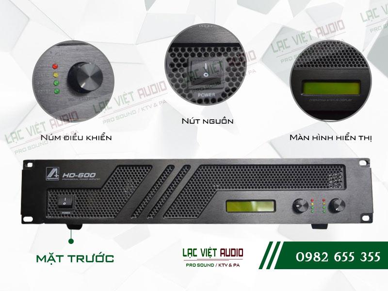 Các tính năng nổi bật và tối ưu nhất của sản phẩm Cục đẩy công suất Agasound HD 600