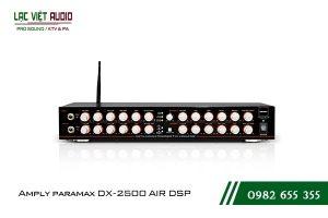 Thiết kế bên ngoài của sản phẩm Amply paramax DX 2500 AIR DSP