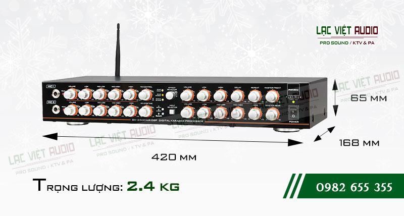 Giới thiệu về sản phẩm Amply paramax DX 2500 AIR DSP