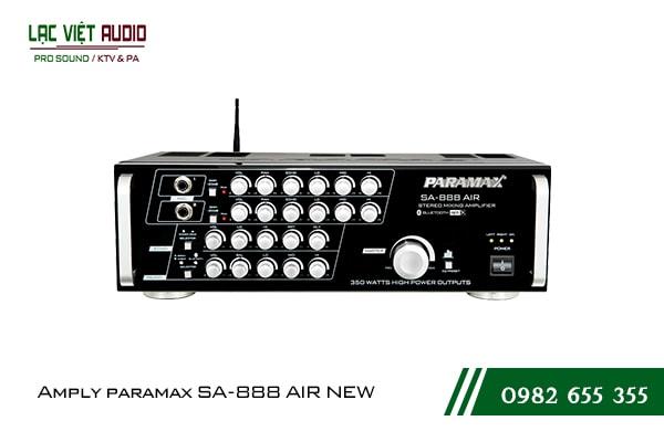 Giới thiệu về sản phẩm Amply paramax SA 888 AIR NEW