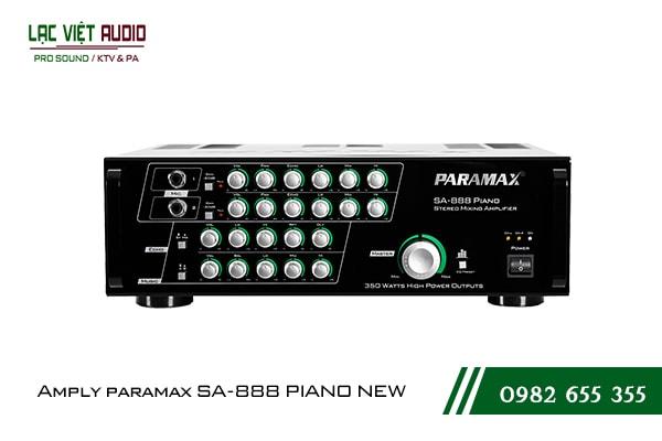 Giới thiệu về sản phẩm Amply paramax SA 888 PIANO NEW
