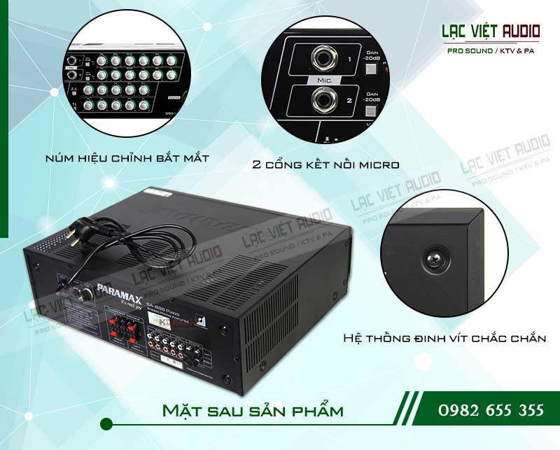 Các tính năng nổi bật của sản phẩm Amply paramax SA 888 PIANO NEW