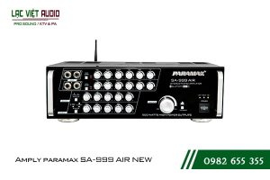 Giới thiệu về sản phẩm Amply paramax SA 999 AIR NEW