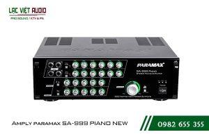 Giới thiệu về sản phẩm Amply paramax SA 999 PIANO NEW
