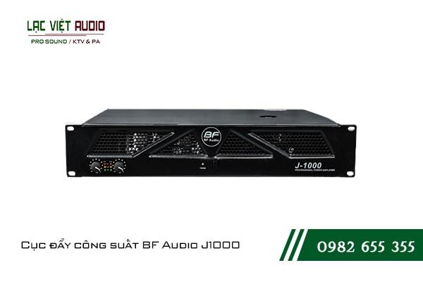 Giới thiệu về sản phẩm Cục đẩy công suất BF Audio J1000
