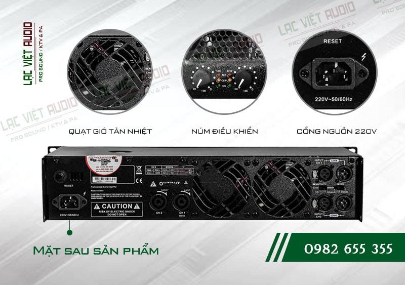 Các tính năng nổi bật của sản phẩm Cục đẩy công suất BF Audio J500