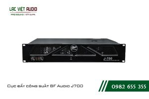 Giới thiệu về sản phẩm Cục đẩy công suất BF Audio J700