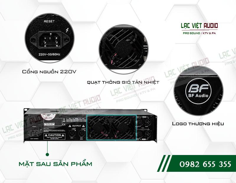 Các tính năng nổi bật của sản phẩm Cục đẩy công suất BF Audio J700