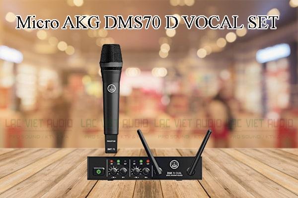 Tính năng nổi bật của sản phẩm Micro AKG DMS70 D VOCAL SET