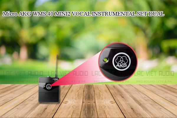 Tính năng nổi bật của sản phẩm Micro AKG WMS 40 MINI2 INSTRUMENTAL SET DUAL