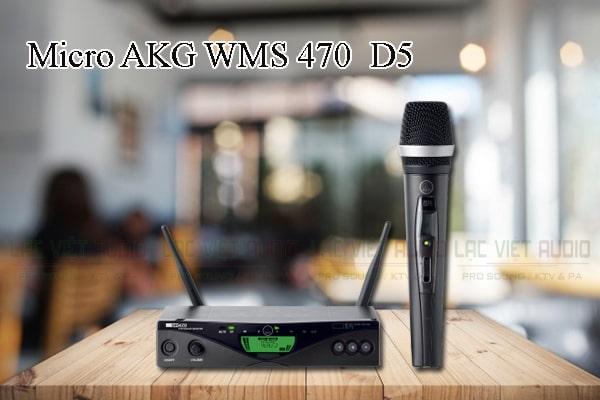 Tính năng nổi bật của sản phẩm Micro AKG WMS 470/D5