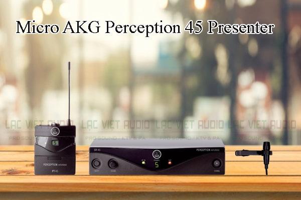 Tính năng nổi bật của sản phẩm Micro AKG Perception 45 Presenter