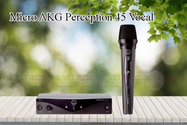 Các thiết kế bên ngoài của sản phẩm Micro AKG Perception 45 Vocal