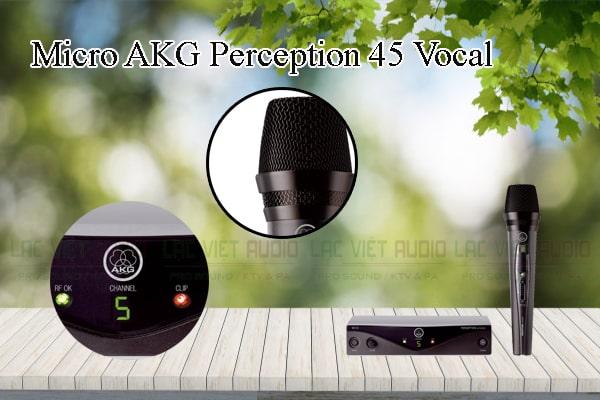 Tính năng nổi bật của sản phẩm Micro AKG Perception 45 Vocal