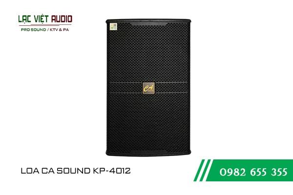 Giới thiệu về sản phẩm Loa CA Sound KP 4012