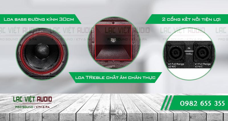 Các đặc điểm nổi bật của sản phẩm Loa CA Sound KP 4012