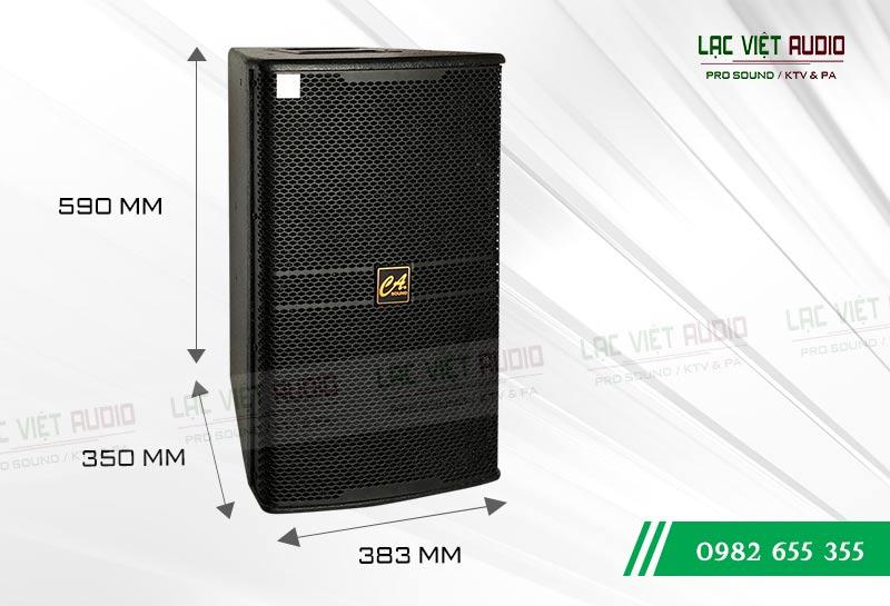 Thiết kế bên ngoài của sản phẩm Loa CA Sound KP 4012